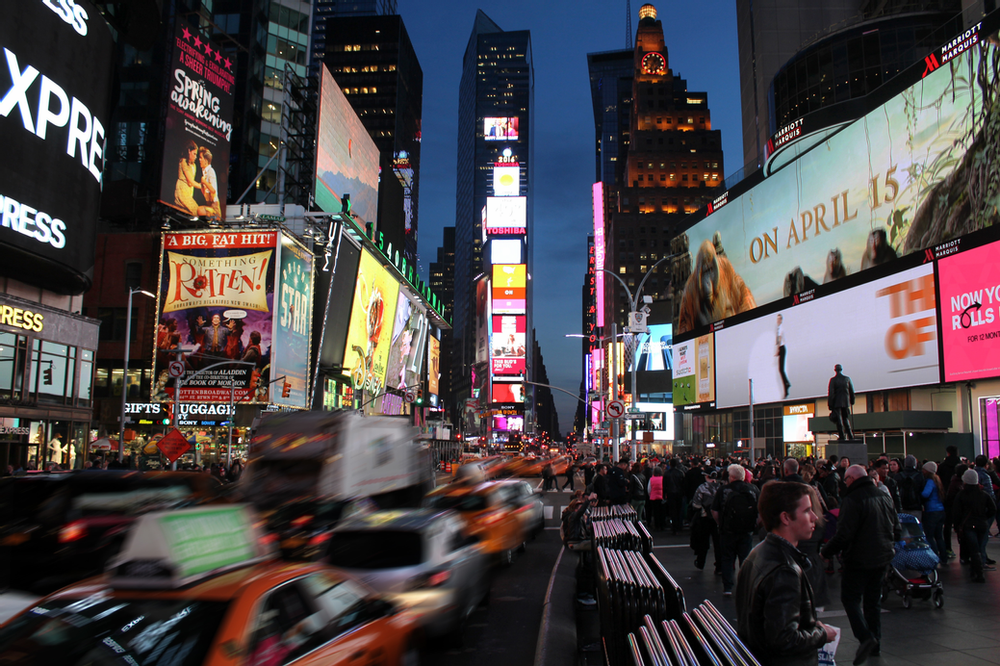 Busy Streets of New York